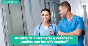 diferencias entre auxiliar de enfermer铆a y enfermera
