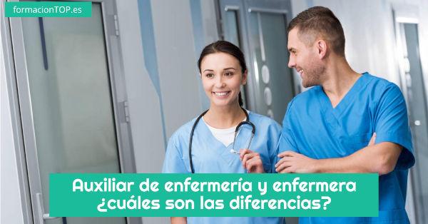diferencias entre auxiliar de enfermería y enfermera