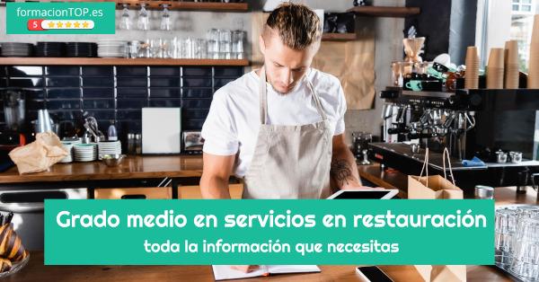 grado medio en servicios en restauración